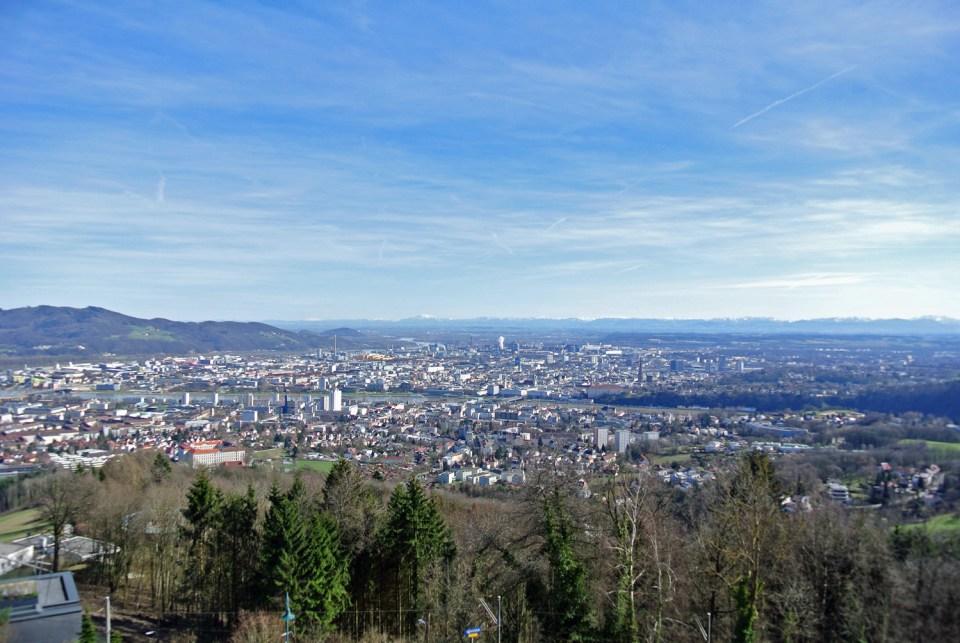 Aussicht vom Pöstlinberg