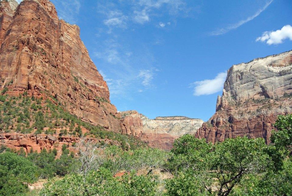 Wandern im Zion National Park