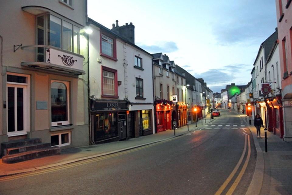 Kilkenny bei Nacht