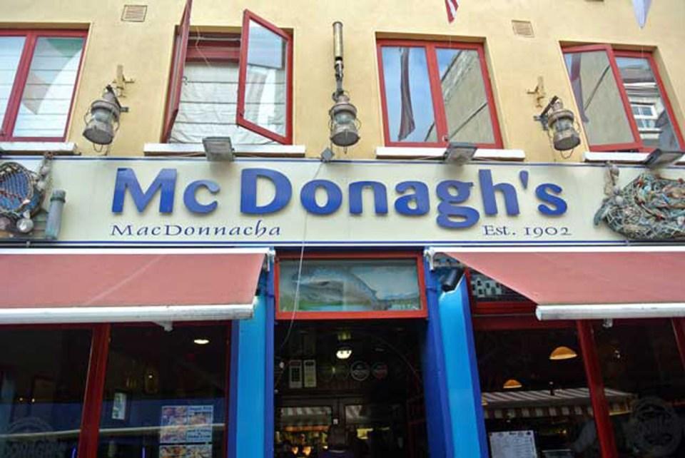 Galway Mc Donagh's Irland