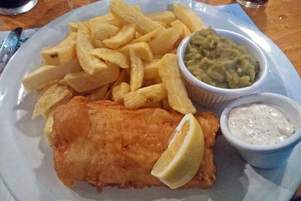 Fish and Chips Mc Donagh's Galway Irland