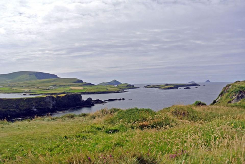 Blick auf die Skellig Islands