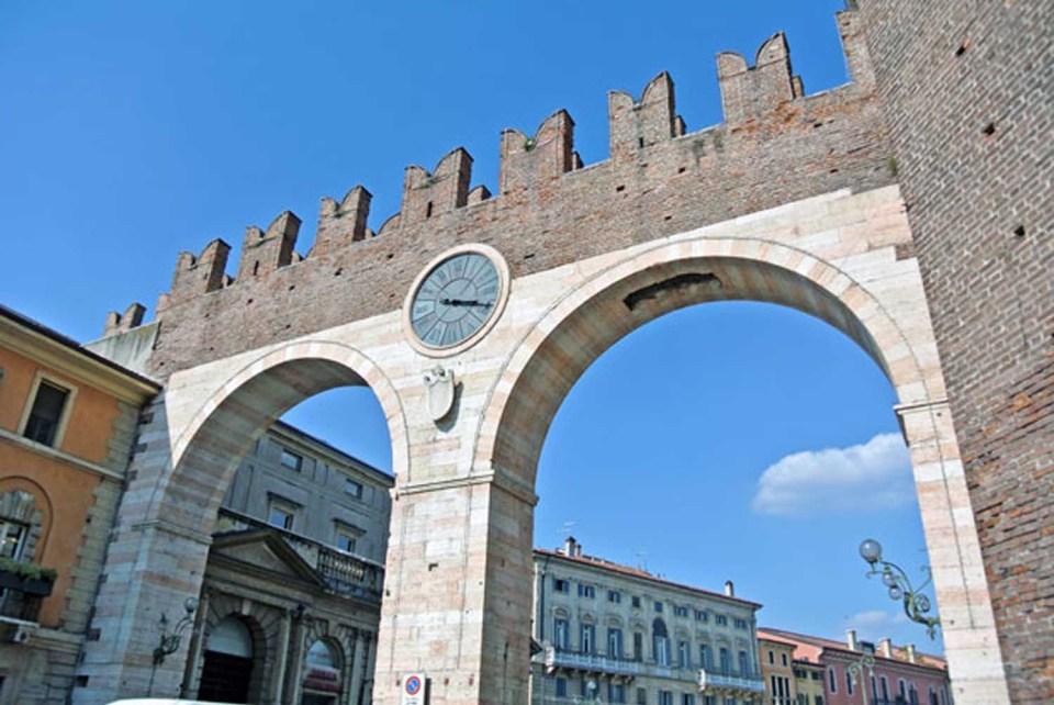 Piazza Bra in Verona