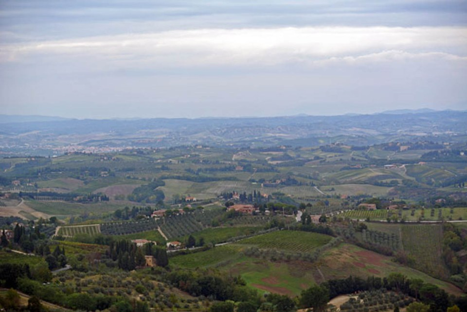 Ausblick vom Torre Grossa San Gimignano