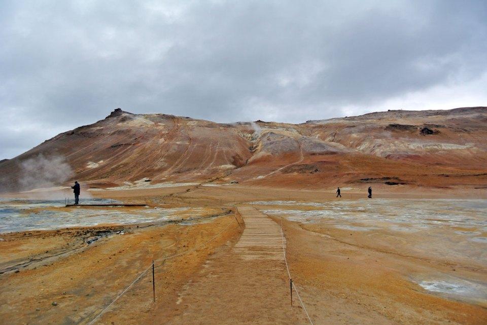 Hverir Island Myvatn