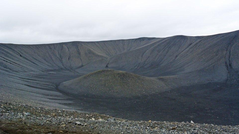 Hverfjall Island Myvatn