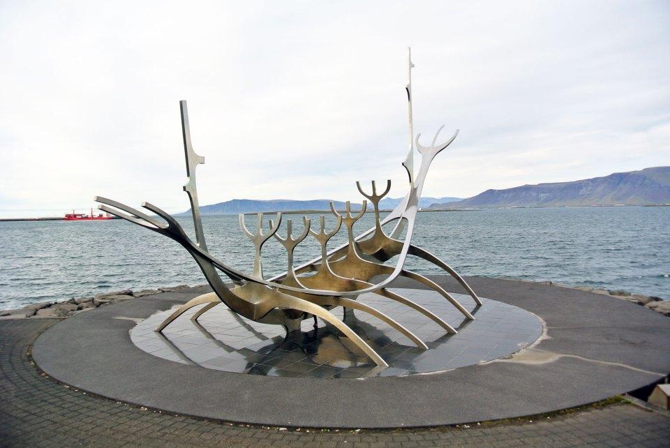 Sólfar Reykjavik Island