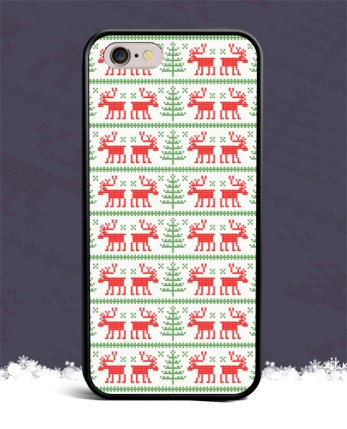 christmas-reindeer-pattern-iphone-4-4s-5-5s-5c-6-6s-plus-7-samsung-galaxy-s3-s4-s5-s6-s7-edge-hoesje-case-1-1