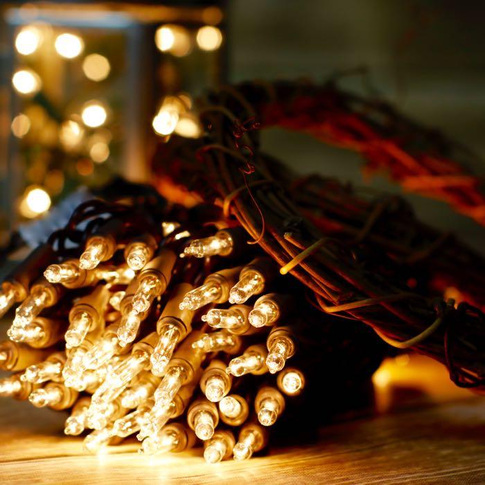 Teal Christmas Lights
