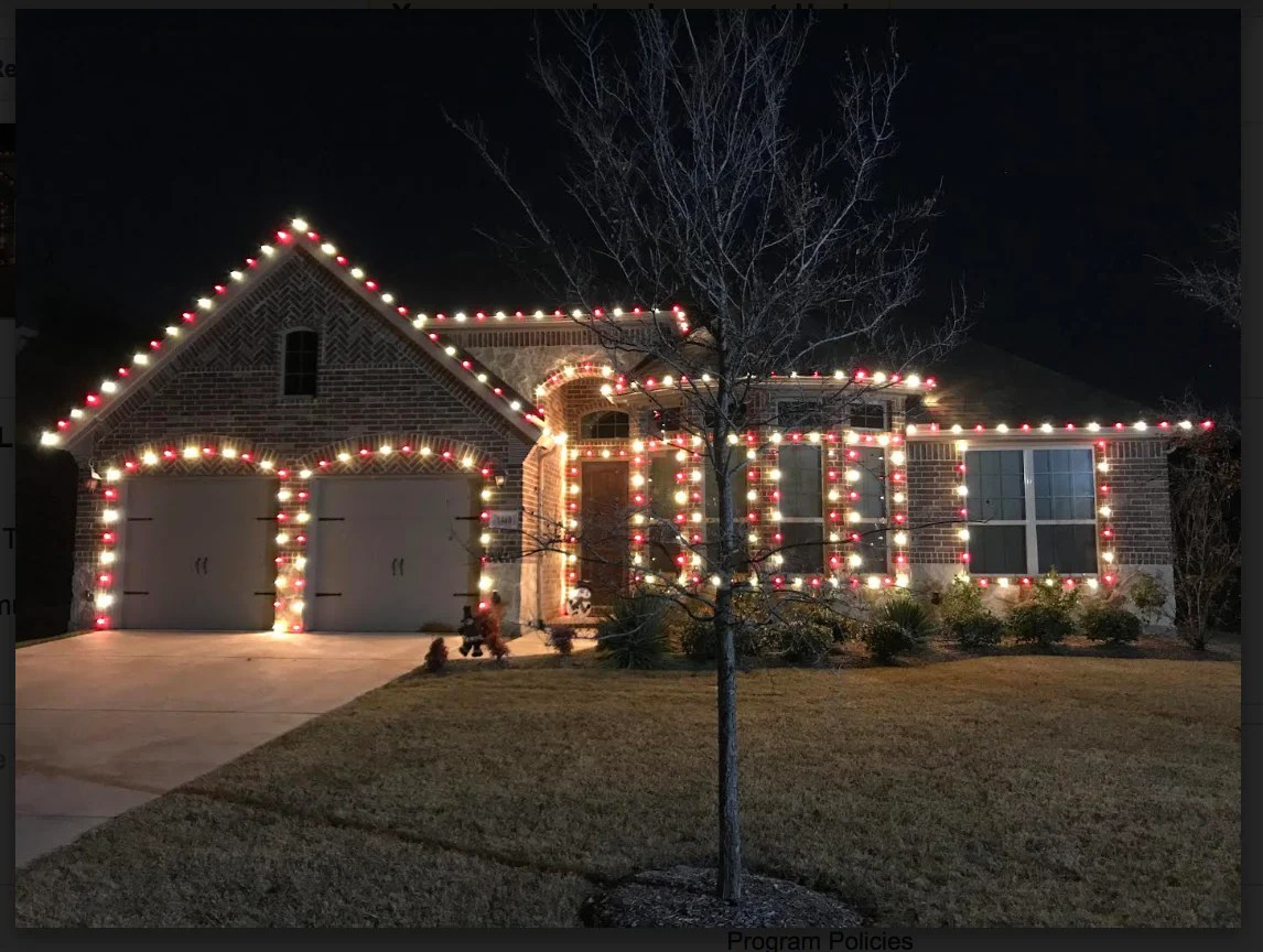 Red And White C9 Led Christmas Lights