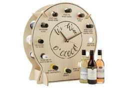 wine clock advent calendar
