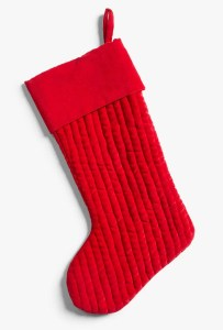 John Lewis Christmas stocking