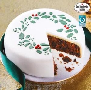 aldi xmas cake