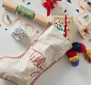 make a xmas stocking