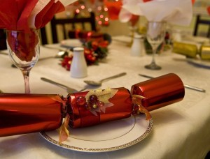 xmas crackers for dinner