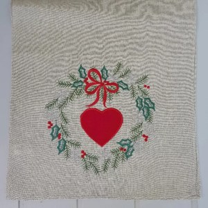xmas day nordic table runner