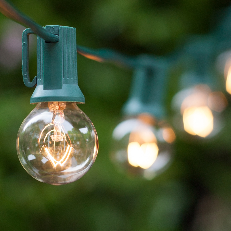 Outdoor Globe String Lighting