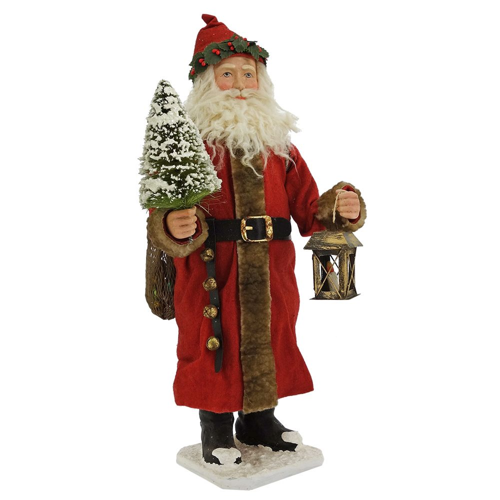 Vintage St Nicholas With Presents Container By Bethany