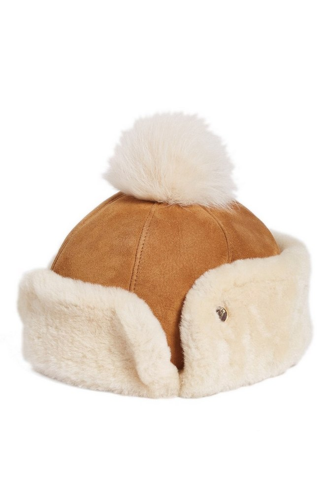 Genuine Shearling Pom Hat by UGG® | $175