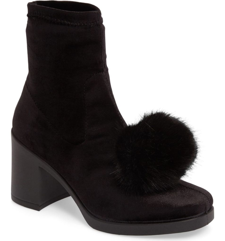 Belle Pompom Boot by Topshop | $70