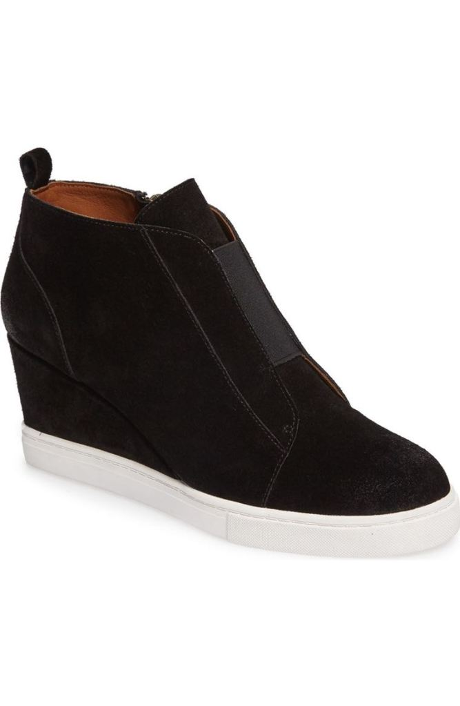 'Felicia' Wedge Bootie by Linea Paolo | $120