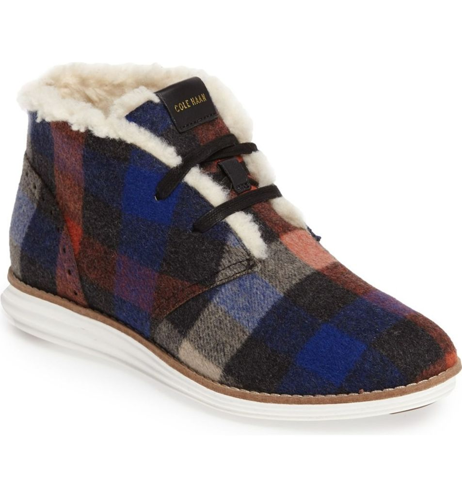 Original Grand Faux Shearling Chukka Boot by Cole Haan | $138
