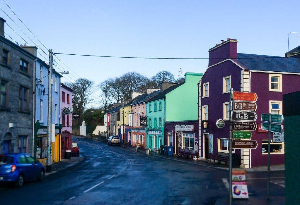 Kinvarra Village - Cliffs of Moher and Surrounding Attractions in County Clare, Ireland - Christobel Travel