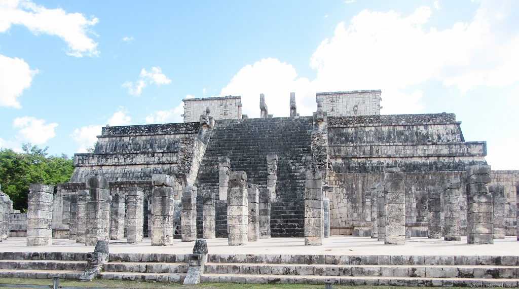 Temple of the Warriors - Day Trip to Chichen Itza, Yucatan, Mayan Ruins - Christobel Travel