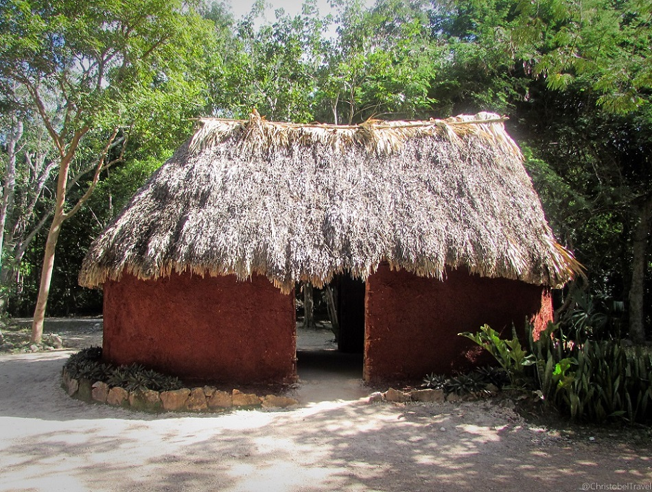 Mayan Thatched House - Day Trip to Chichen Itza, Yucatan, Mayan Ruins - Christobel Travel