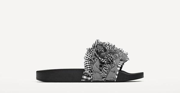 Gingham Slides - 15 Travel Sandals for Summer - Christobel Travel