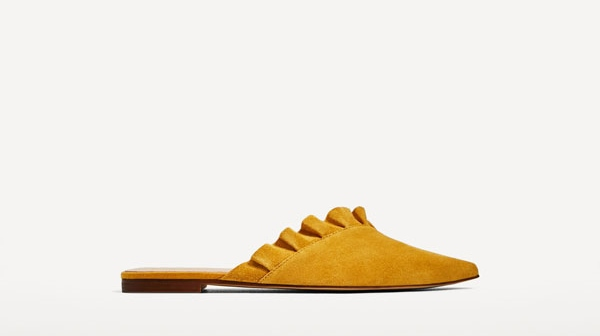Zara Leather Mules with Fill Details - 15 Travel Sandals for Summer - Christobel Travel