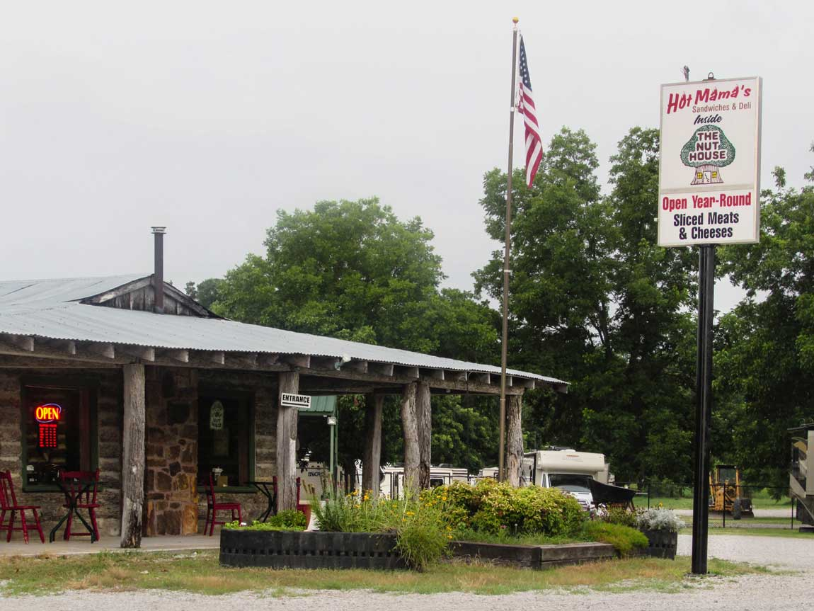 Nut House in Verdigris - Route 66 Oklahoma: All Towns and Attractions to See - Christobel Travel