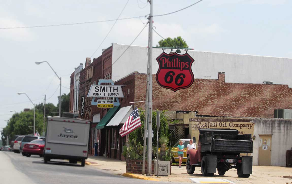 Main Street Chandler - Route 66 Oklahoma: All Towns and Attractions to See - Christobel Travel