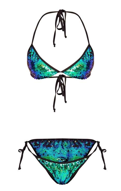 Pretty Little Things Sequin Bikini