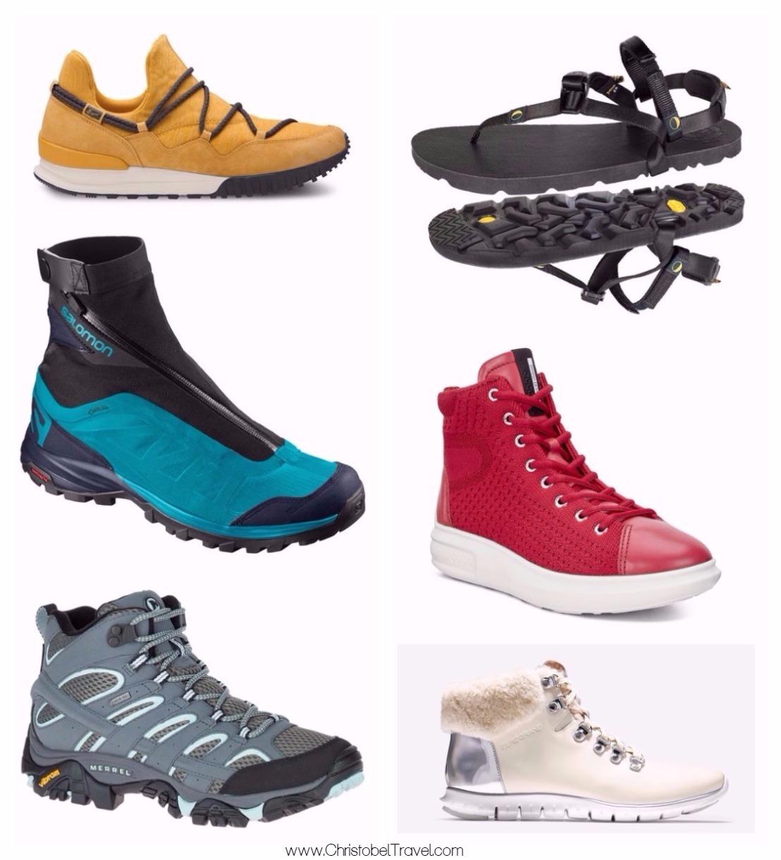Stylish good walking shoes catalog photo