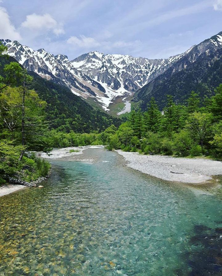 The Japanese Alps and the Chubu-Sangaku National Park - 6 Must See Japan Tourist Attractions - Christobel Travel