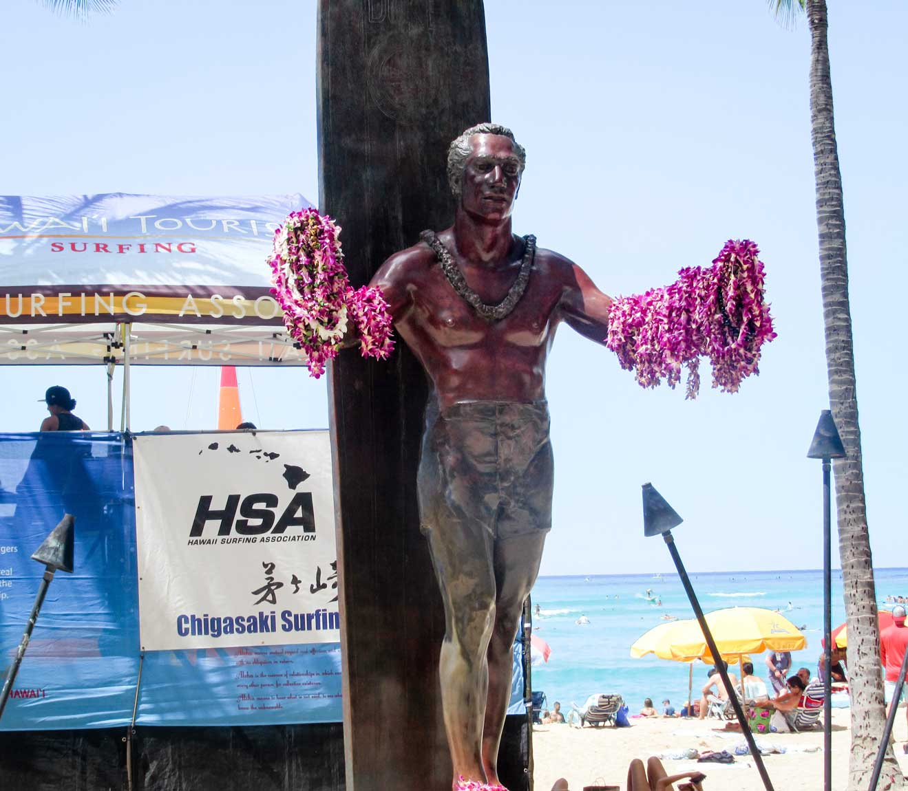 Duke Kahanamoku - Honolulu Travel Guide - 45 things to do in Honolulu - Christobel Travel