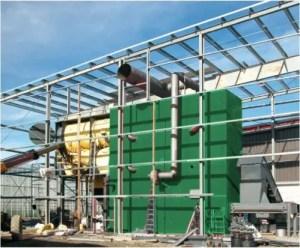 Komponenten der Biomasse-Heizanlagen