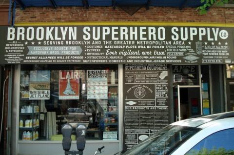 Wo die Wilden Sperhelden wohnen: 826NYC in Park Slope Brooklyn