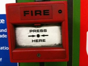 bouton d'urgence