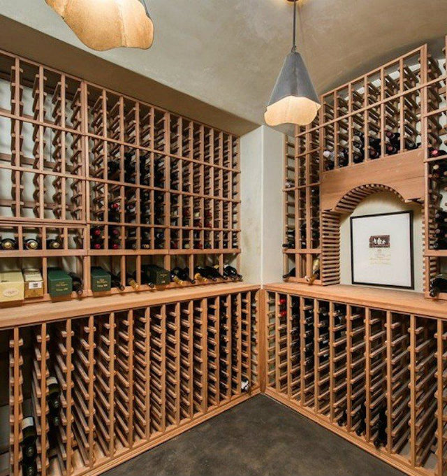 Los Angeles Real Estate Lady Gaga Wine Celler