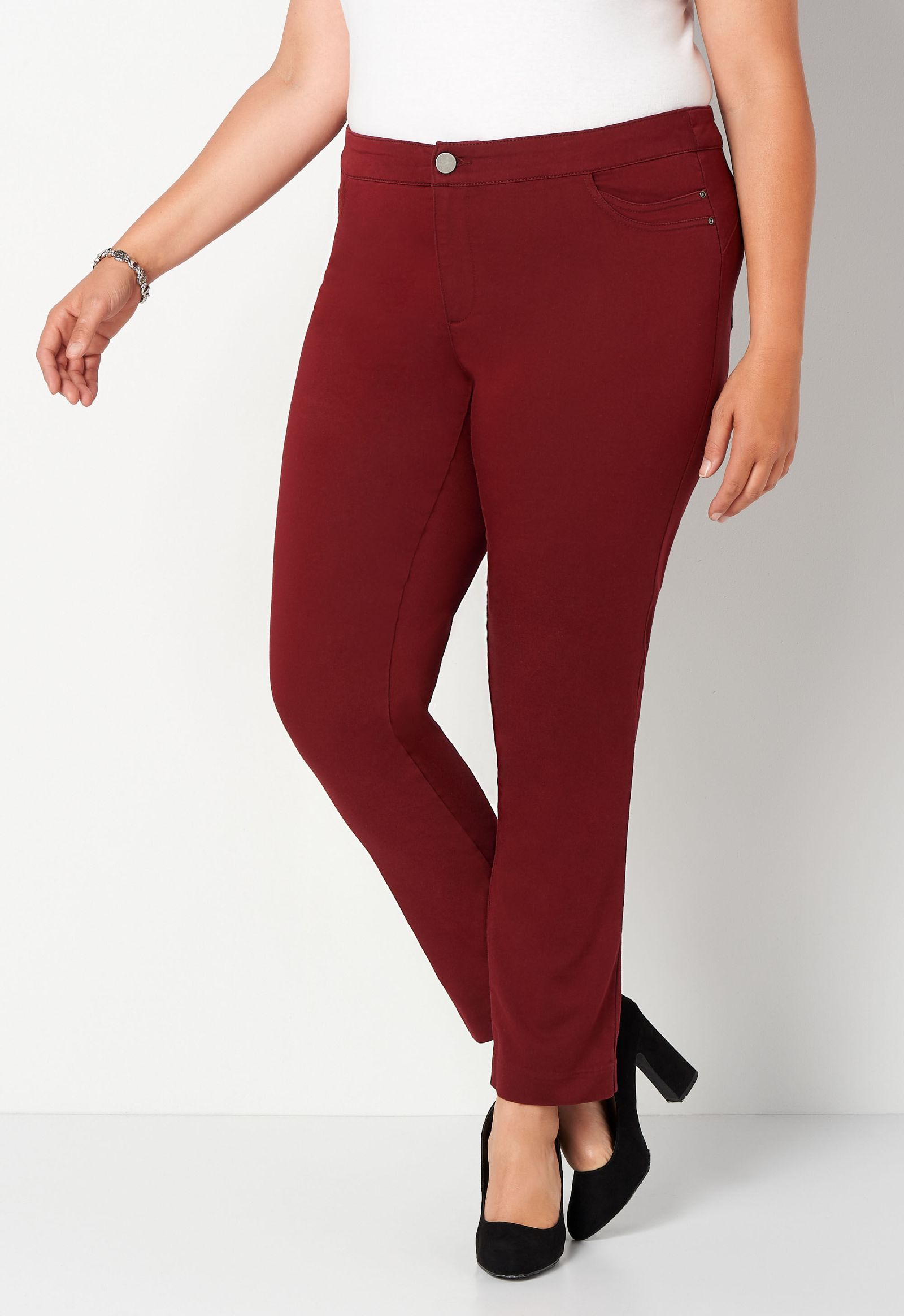 Super Stretch Tapered Plus Size Pant Average Shaped Fit 2
