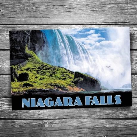 30-01-05-Niagara-Falls-Below the Falls-Postcard