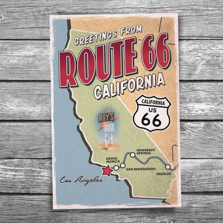 66-140-Route-66-California-Map-Postcard