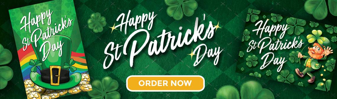 St Patrick's Day Postcards