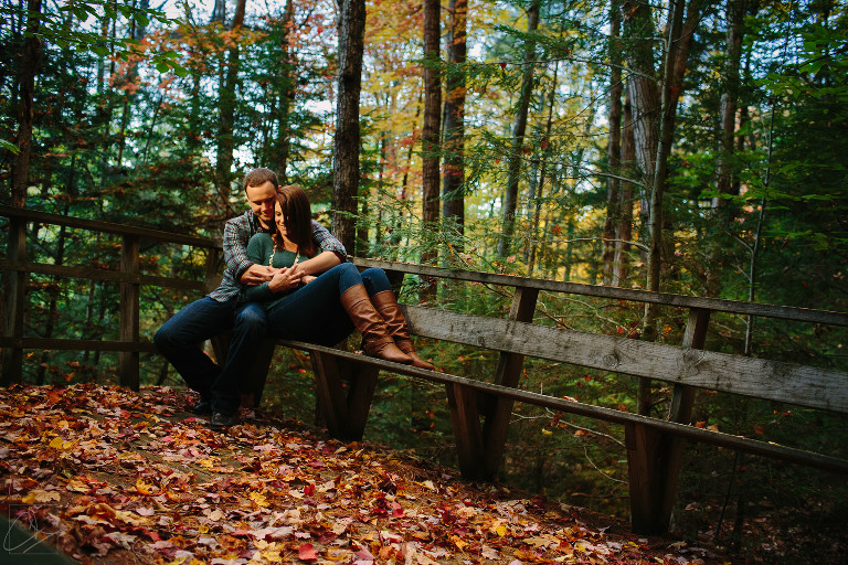 A Fall Engagement Session At Stonewall Farm Keene NH