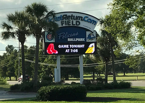 Front-sign