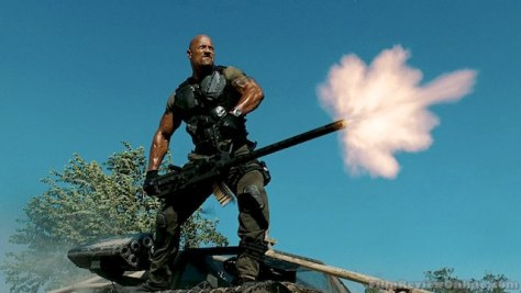 Dwayne 'The Rock' Johnson in G.I. Joe Retaliation
