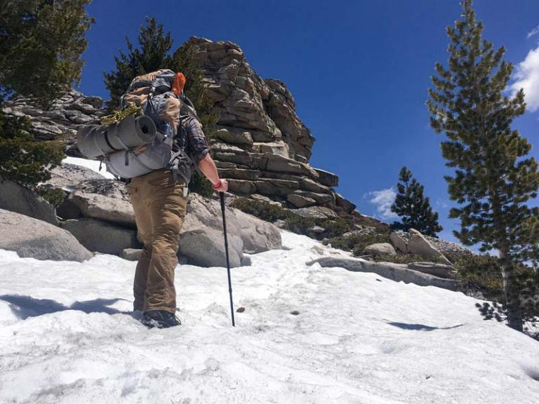 Backpacking near Clouds Rest Summit Yosemite by Christopher Keelty