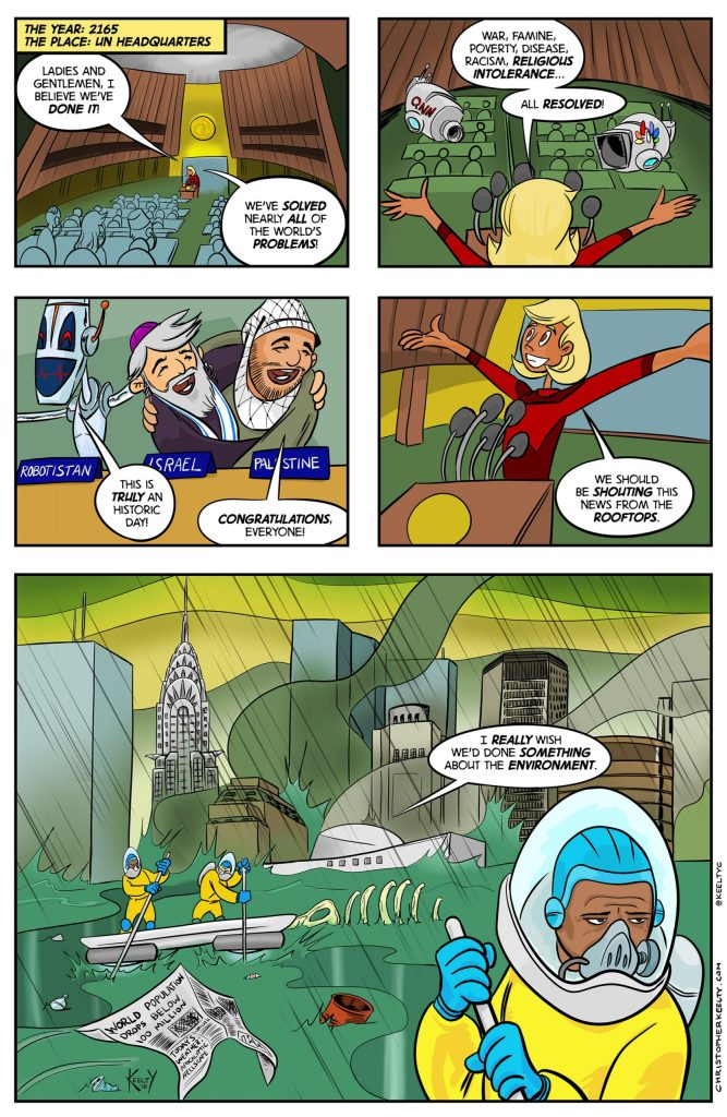 UN Solutions - Comic by Christopher Keelty